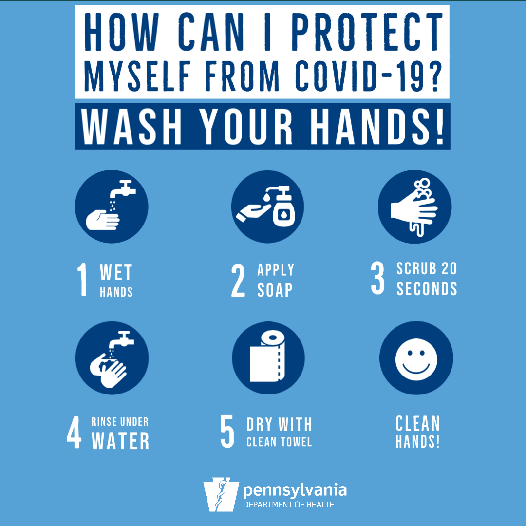 Tips for proper handwashing
