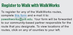 WalkWorks register to walk
